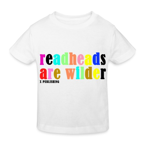 Readheads are wilder X Publishing - Ekologisk T-shirt barn