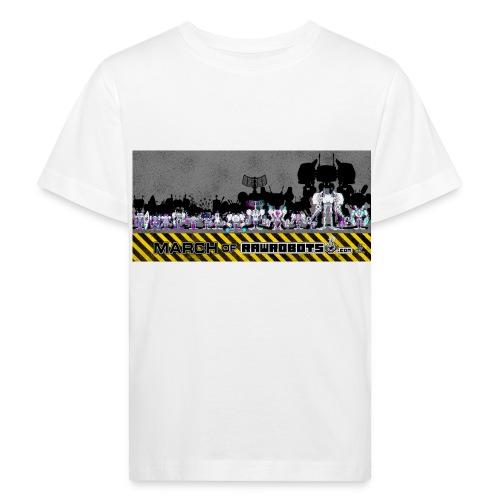 #MarchOfRobots ! LineUp Nr 2 - Organic børne shirt