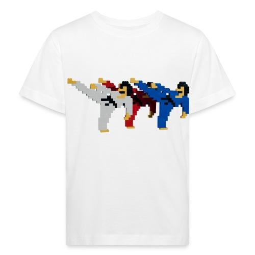 8 bit trip ninjas 2 - Kids' Organic T-Shirt