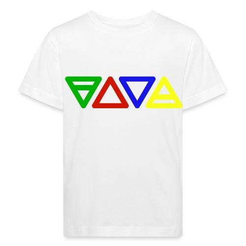 Zeichen der vier Elemente - Kinder Bio-T-Shirt