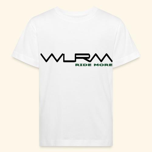WLRM Schriftzug black png - Kinder Bio-T-Shirt