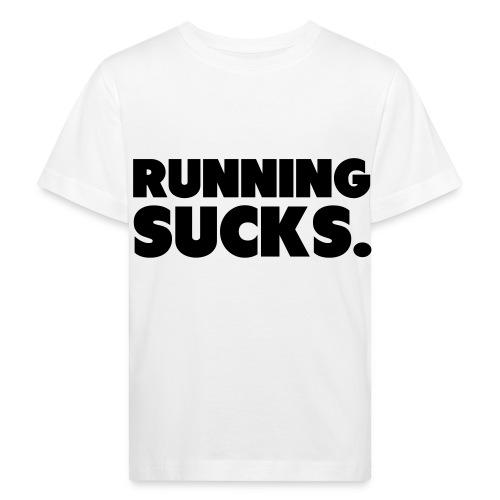 Running Sucks - Lasten luonnonmukainen t-paita