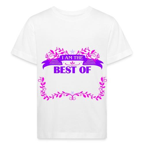 Talent Message I AM THE BEST OF Fun 3 - Kinder Bio-T-Shirt