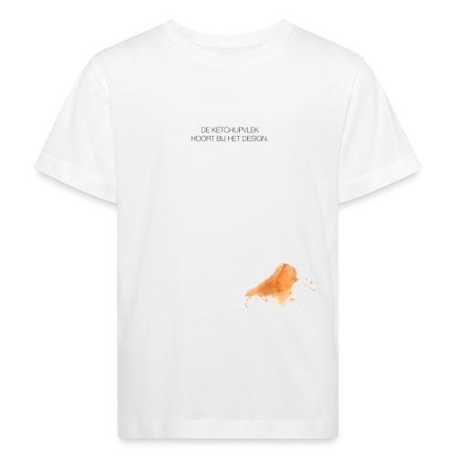 Ketchupvlek - Kinderen Bio-T-shirt