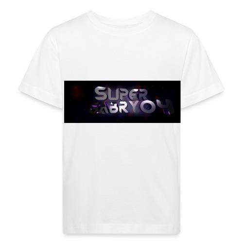 SUPERGABRY04 - Maglietta ecologica per bambini