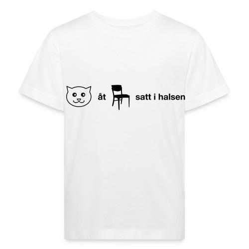 Katt åt stol - Ekologisk T-shirt barn