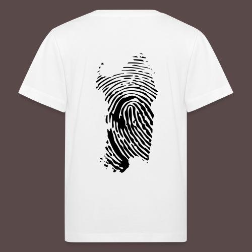 Sardegna Impronta Digitale - Maglietta ecologica per bambini