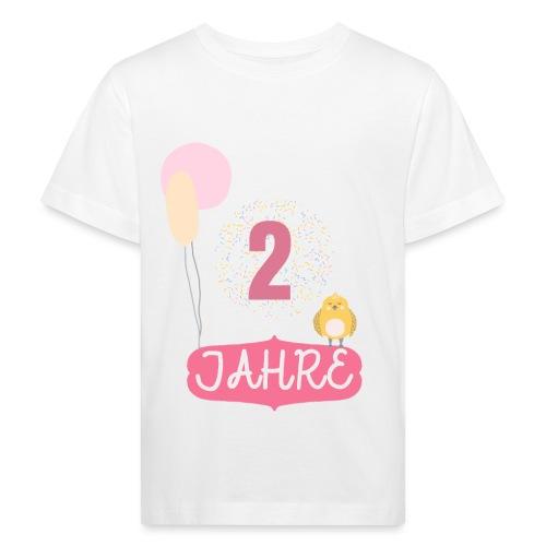 2 Jahre // Geschenk zum 2. Geburtstag - Kinder Bio-T-Shirt