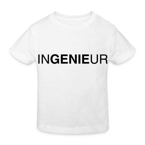 ingenieur 01 - Kinder Bio-T-Shirt