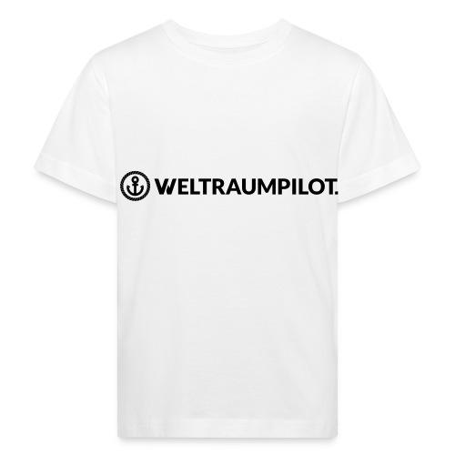 weltraumpilotquer - Kinder Bio-T-Shirt