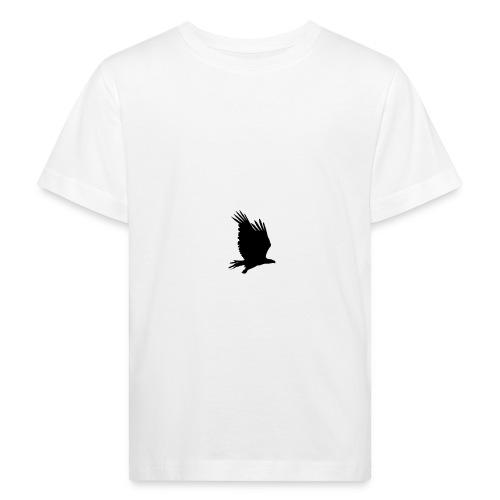 Tirolerbergluft pur (großer Adler) - Kinder Bio-T-Shirt