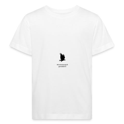 #tirolerbergluft genießerin - Kinder Bio-T-Shirt