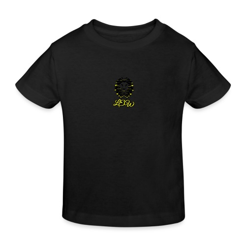 Black and Yellow Lew - Kids' Organic T-Shirt