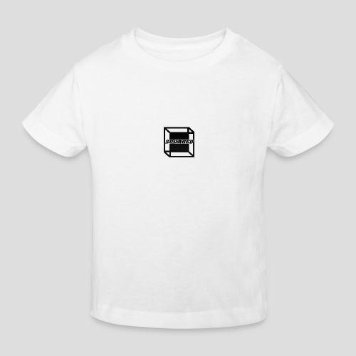 Squared Apparel Black Logo - Kids' Organic T-Shirt