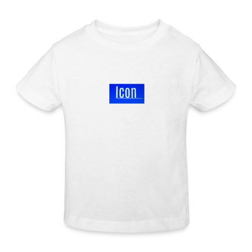 Icon kids small logo tshirt - Kids' Organic T-Shirt