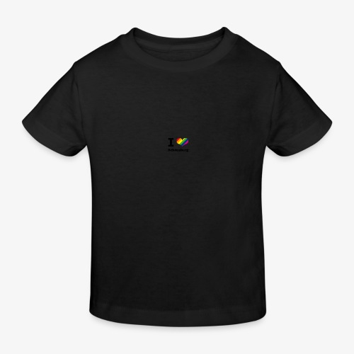 I love Schöneberg - Kinder Bio-T-Shirt
