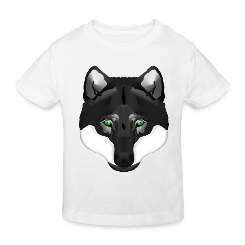 Wolf Head - Kinder Bio-T-Shirt