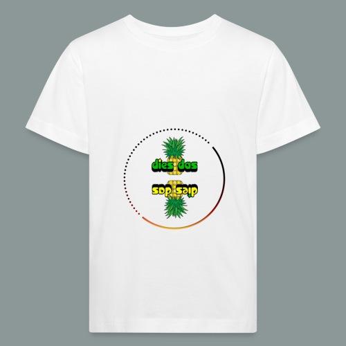 Dies-Das-Ananas - Kinder Bio-T-Shirt