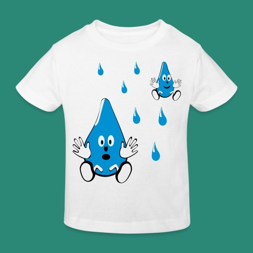 Tropfen - Kinder Bio-T-Shirt