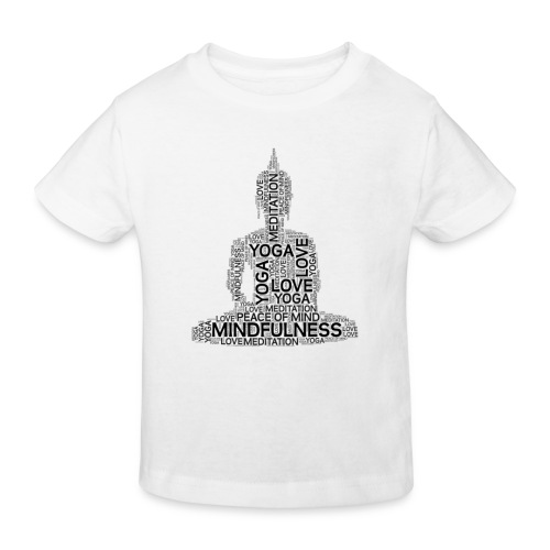 YOGA AND MINDFULNESS - Camiseta ecológica niño