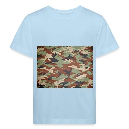 camoprint jpg - Kinderen Bio-T-shirt