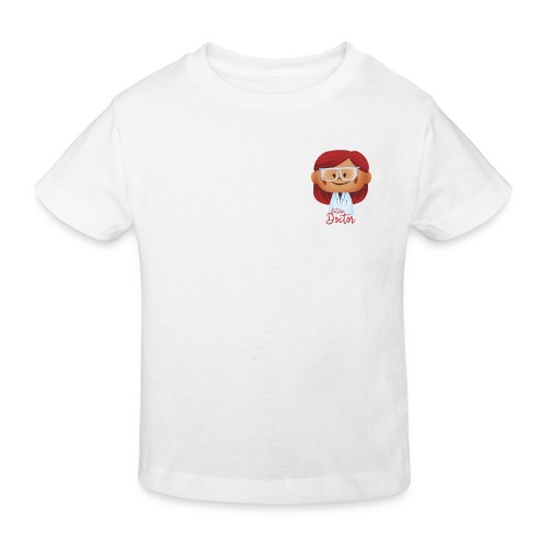 Peekaboo Females -The Doctor - Organic børne shirt