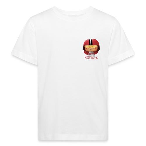 Peekaboo Females -The Race Driver - Organic børne shirt