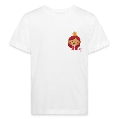 Peekaboo Females -The King - Organic børne shirt