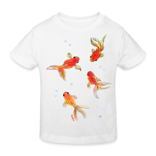 Slöjstjärt större - Ekologisk T-shirt barn
