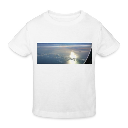 Flugzeug Himmel Wolken Australien - 3. Motiv - Kinder Bio-T-Shirt