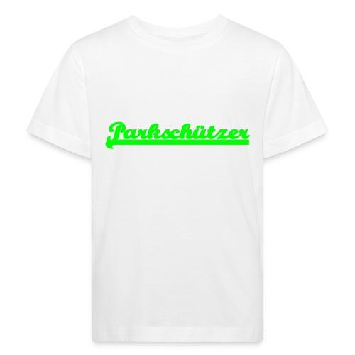 parkschuetzer_schriftzug - Kinder Bio-T-Shirt