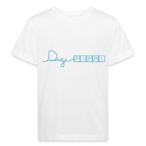 DP Logo Blue - Organic børne shirt