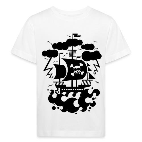 BD Pirate Ship - Kinder Bio-T-Shirt