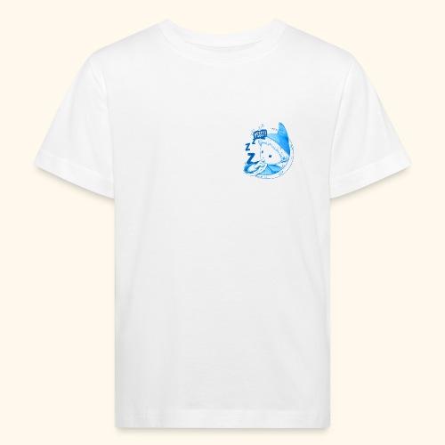 Unser Sandmännchen im Mond Pssst blau - Kinder Bio-T-Shirt