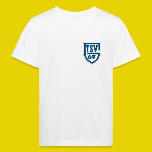 logo transparent blau - Kinder Bio-T-Shirt