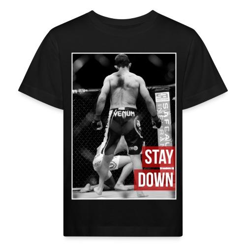 Phil Harris Stay Down - Kids' Organic T-Shirt