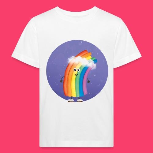 Rudi Regenbogen Sternenhimmel - Kinder Bio-T-Shirt