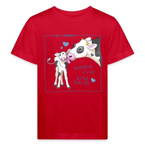 rompertje blauw en wit - Kinderen Bio-T-shirt