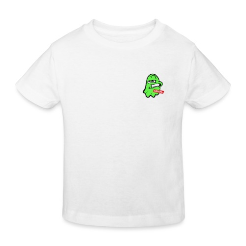 Artees GHOST Green SMALL LOGO - Kinder Bio-T-Shirt