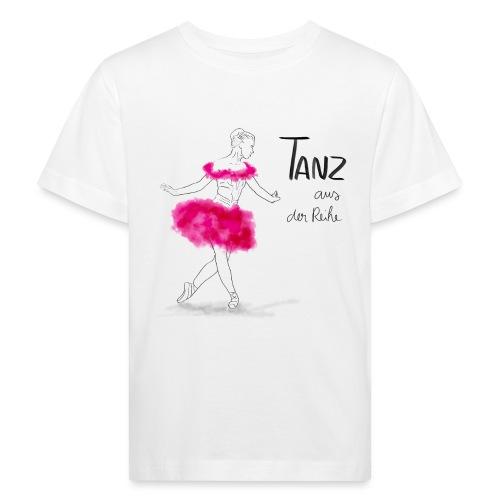 Ballerina mit rosa Tutu - Kinder Bio-T-Shirt
