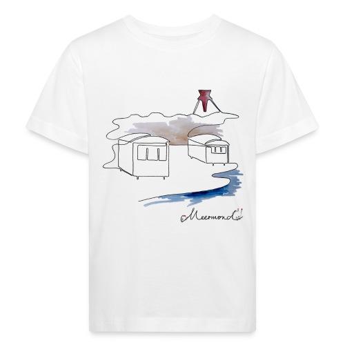 Blokhus 1 - logo - Organic børne shirt