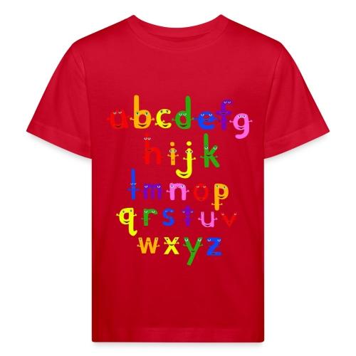 a to z t shirt 1 - Kids' Organic T-Shirt