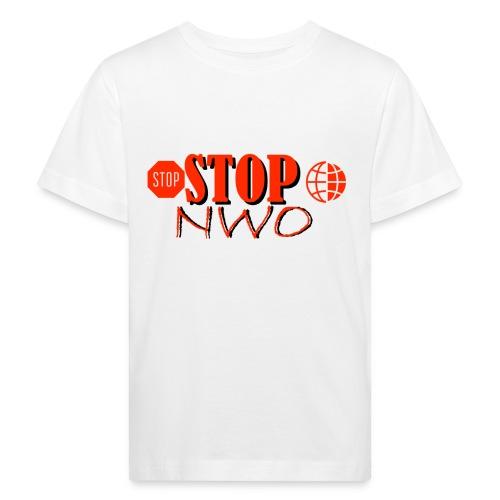STOPNWO1 - Ekologiczna koszulka dziecięca