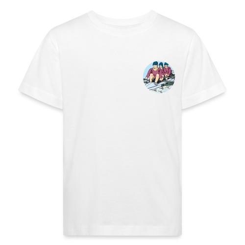 Sport Rudermannschaft - Kinder Bio-T-Shirt