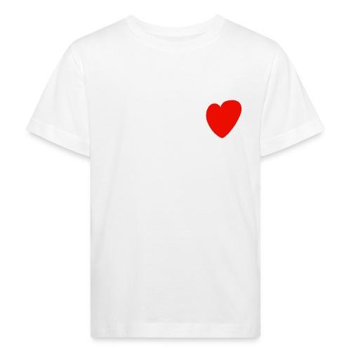 Herz - Kinder Bio-T-Shirt