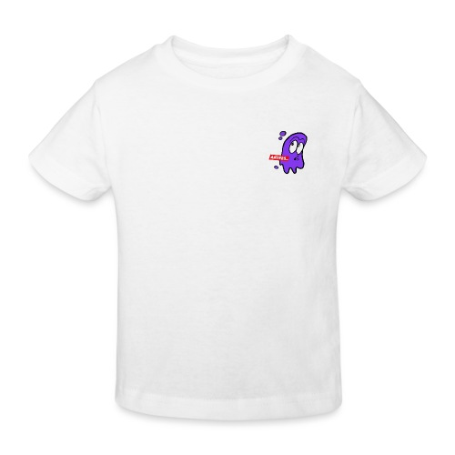 Artees GHOST Purple SMALL LOGO - Kinder Bio-T-Shirt