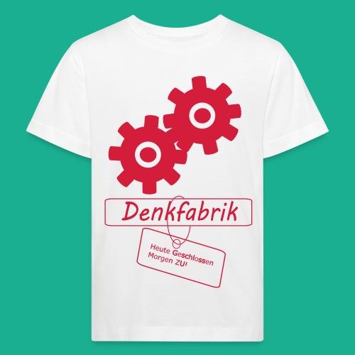Denkfabrik - Kinder Bio-T-Shirt