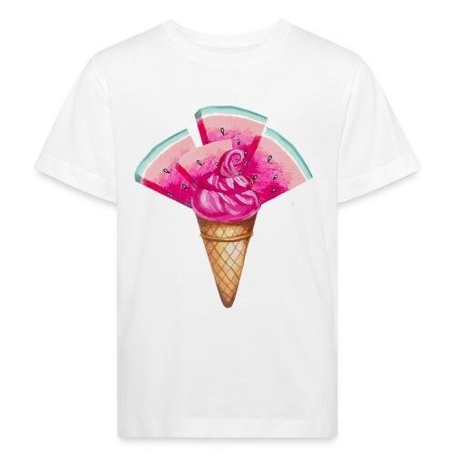 Eis Melone - Kinder Bio-T-Shirt