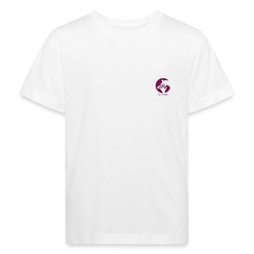 Logo Equilogos blanc coeur - T-shirt bio Enfant