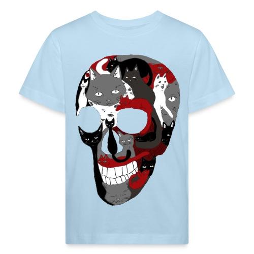 Crâne of the cat - T-shirt bio Enfant